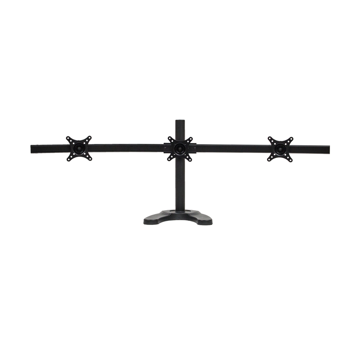 Triple LCD 3 Monitor Stand Desk Mount Adjustable Curved Free