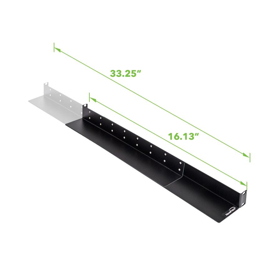 1u Full Depth Rack Mount Shelf Rail For Rackmount Tower Server 33 5 Deep Ebay